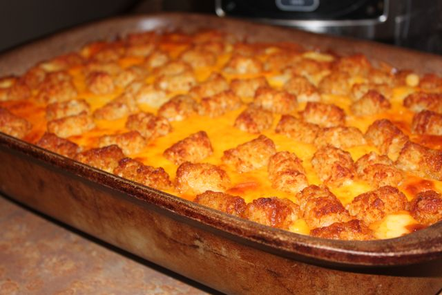 Post image for Because They Love It So … Tater Tot Casserole