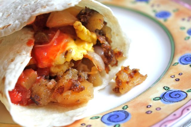 Post image for Bump: Breakfast Burritos x 2