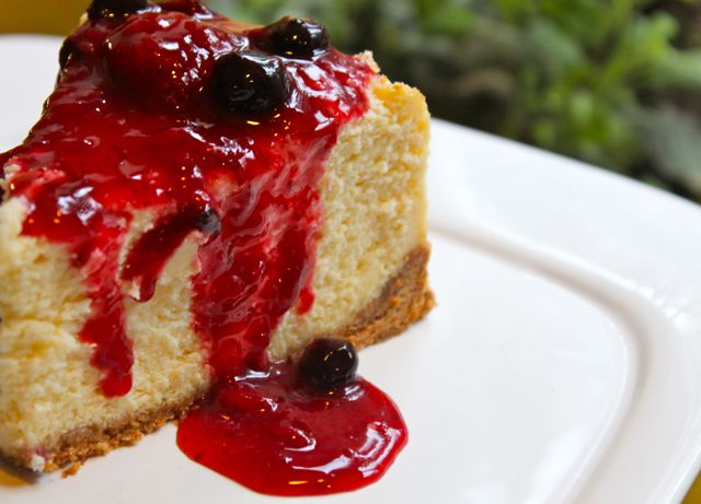Post image for New York Cheesecake with Mixed Berry Topping