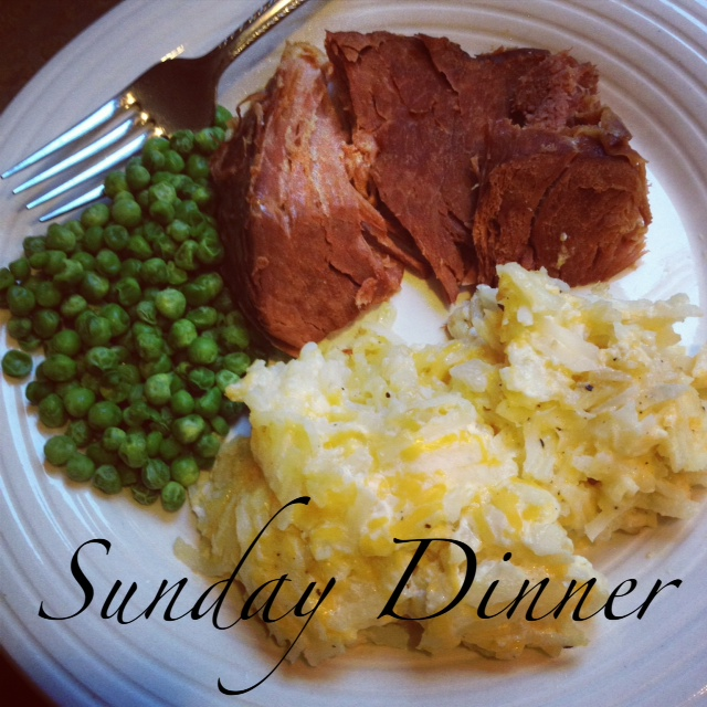 Post image for Sunday Dinner