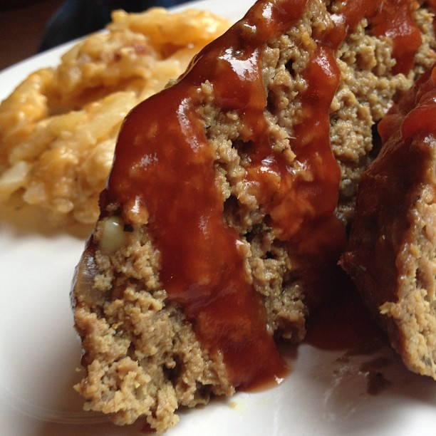 Post image for Meatloaf with a Tangy Glaze