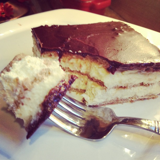 Post image for Chocolate Eclair Cake