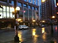 rainy night in seattle