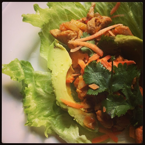 Post image for Asian Chicken Lettuce Wraps