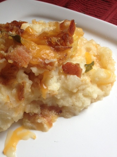 Post image for Twice-Baked Potato Casserole … Because, Why Not?