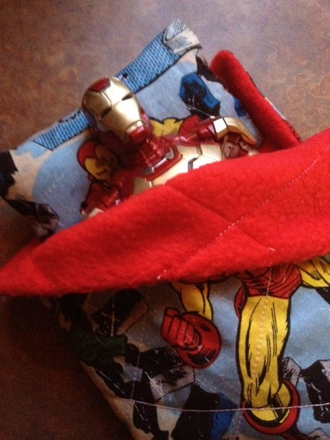 Post image for How to Make an Action Figure Sleeping Bag