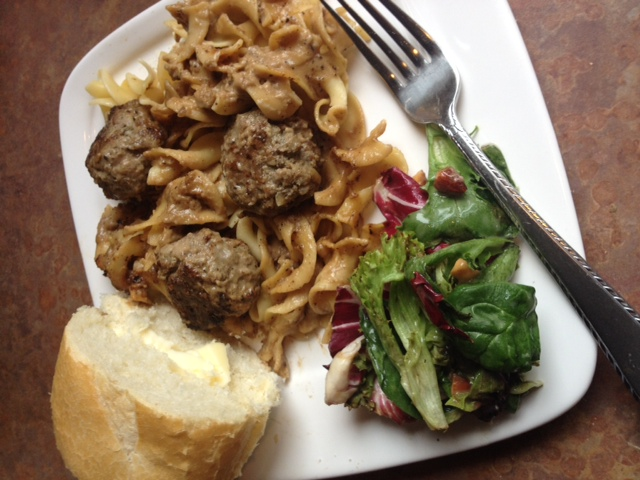 Easy and Delicious Swedish Meatballs and Noodles