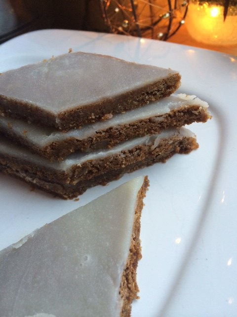 Post image for Gingerbread Bars with a Lemon Glaze